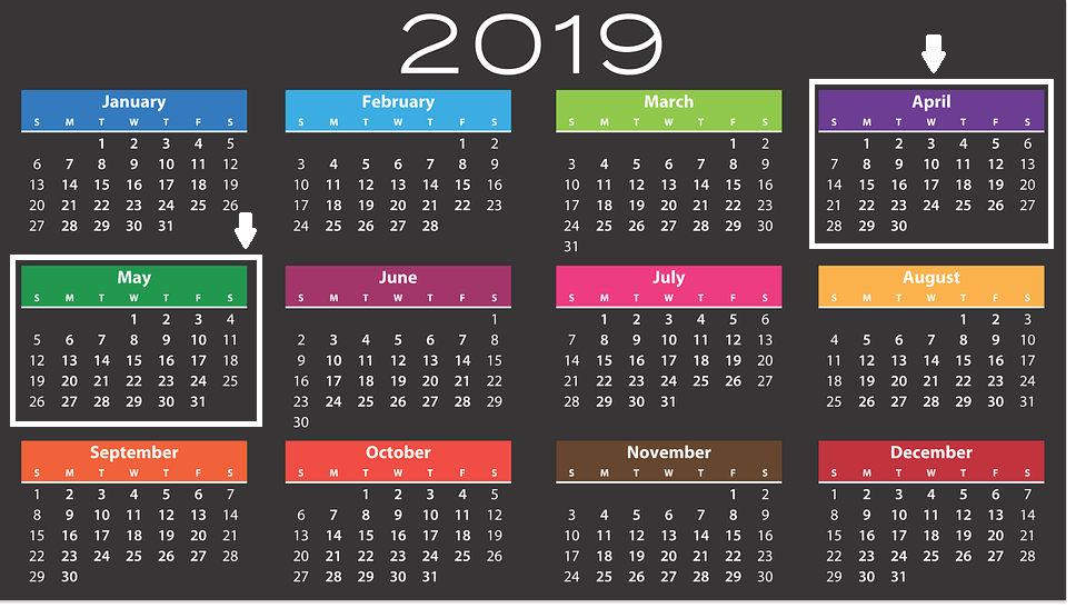Year-end Tax Planning - Calendar