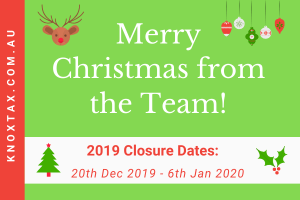 Closure Dates & Merry Christmas