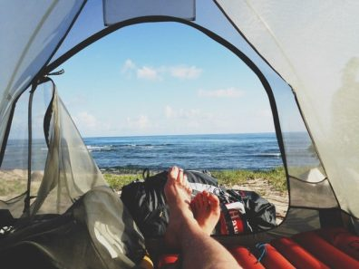 A logbook is important to differentiate work from personal use - including camping.