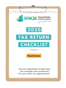 2020 Business Tax Checklist