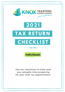 2021 Individual Tax Return Checklist